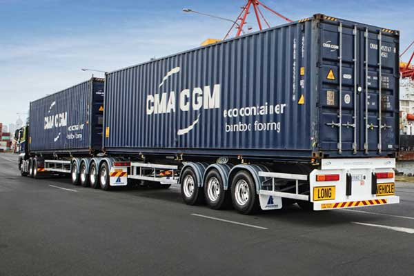 Elite Unpac Container Truck Transport